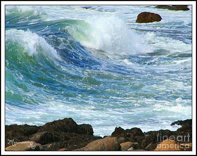 Photograph - Rough Seas by Mariarosa Rockefeller