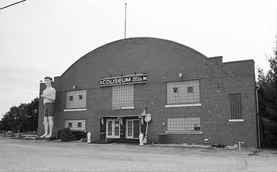 Theater Town Photograph - Route 66 - Coliseum Ballroom by Frank Romeo