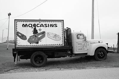 Route 66 - Oklahoma Trading Post Truck Art Print by Frank Romeo