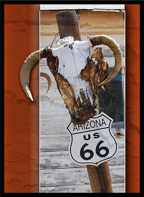 Photograph - Route 66 Sign by Leticia Latocki