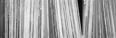 Row Of Music Records, Germany Art Print