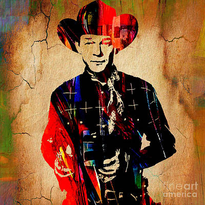 Retro Mixed Media - Roy Rogers Collection by Marvin Blaine