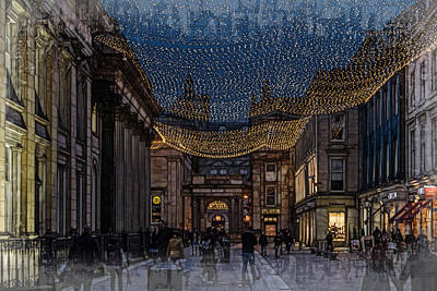 Photograph - Royal Exchange Square Glasgow by Fiona Messenger