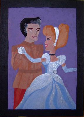 Royal Romantics Art Print by Yvonne  Kroupa
