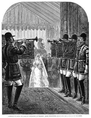 Connaught Painting - Royal Wedding, 1879 by Granger