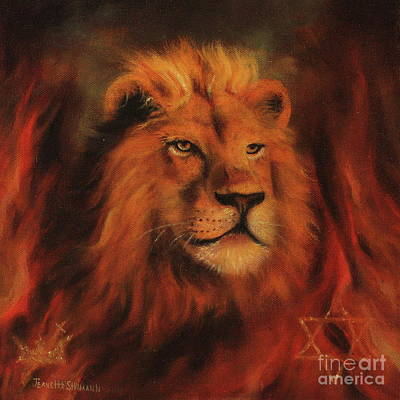 Lion Of Judah Painting - Royalty by Jeanette Sthamann