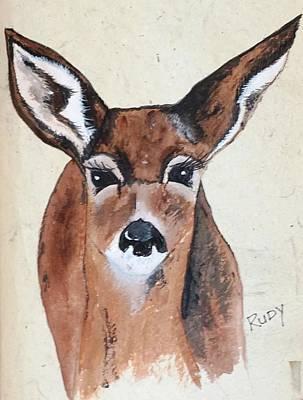 Painting - Rudy by Jennifer Lake