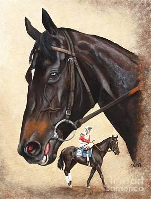 Ruffian Art Print by Pat DeLong