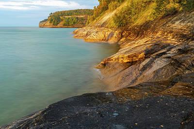 Northwoods Photograph - Rugged Shoreline, Lake Superior by Adam Jones