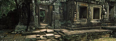 Ancient Civilization Photograph - Ruins Of A Temple, Banteay Kdei by Panoramic Images
