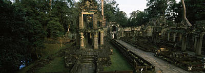 Ruins Of A Temple, Preah Khan, Angkor Print by Panoramic Images