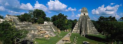 Ruins Of An Old Temple, Tikal, Guatemala Art Print