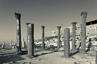 Roman Ruins Photograph - Ruins Of Ancient Jewish And Roman City by Panoramic Images