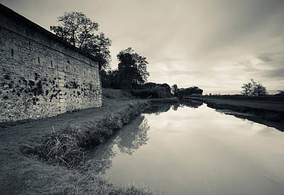 Ruins Of River Fort Designed By Vauban Art Print by Panoramic Images