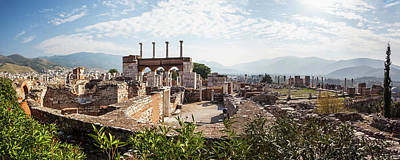 Western Art - Ruins Of Saint John S Basilica by Reynold Mainse