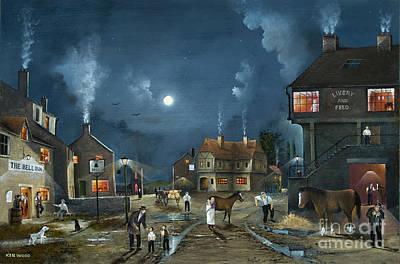Painting - Rural Community by Ken Wood