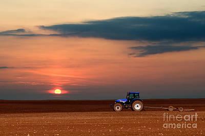 Crop Photograph - Rural Landscape by Michal Bednarek