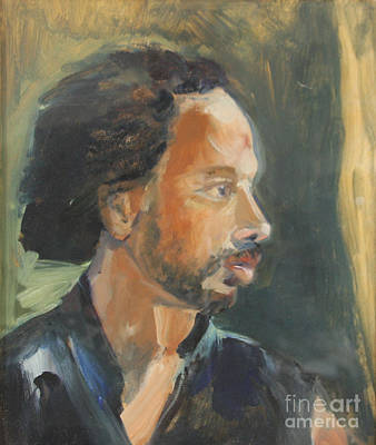 Painting - Russell by Daun Soden-Greene