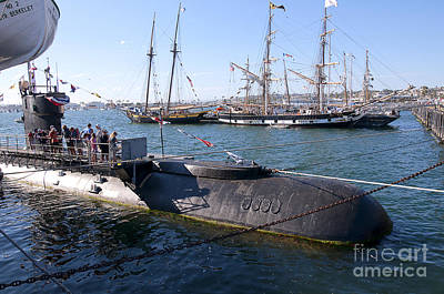 Photograph - Russian Submarine by Brenda Kean
