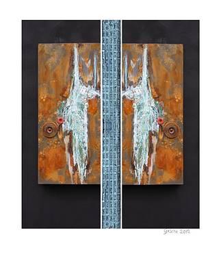 Rust Art 02 Art Print