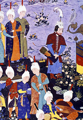 Safavid Painting - Rustam, 16th Century by Granger