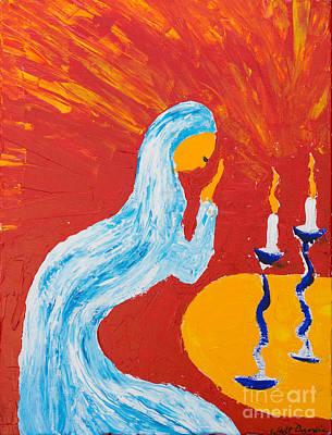 Painting - Sabbath Prayer by Walt Brodis