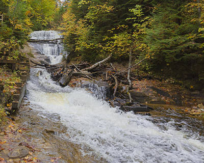 Photograph - Sable Falls by Jack R Perry