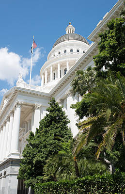 Sacramento Capitol Building Of California Art Print