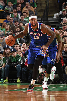 Photograph - Sacramento Kings V Boston Celtics by Steve Babineau