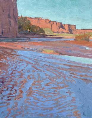 Painting - Sacred Water by Sharon Weaver
