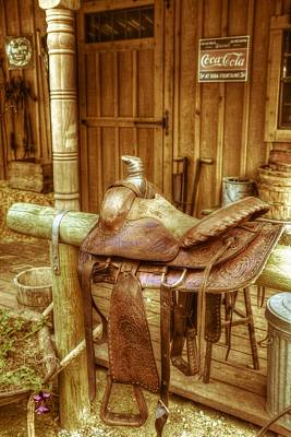 Royalty-Free and Rights-Managed Images - Saddle by Wild Fire