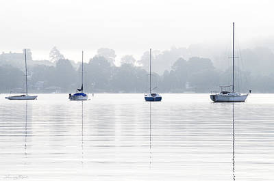 Photograph - Sailboats by Sharon Popek