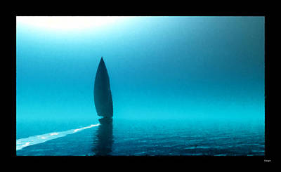 Digital Art - Sailing Away... by Tim Fillingim