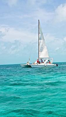Photograph - Sailing In Belize by Kristina Deane