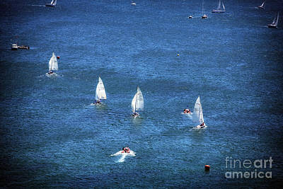 Photograph - Sailing by John Rizzuto