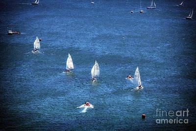 Sailing Print by John Rizzuto