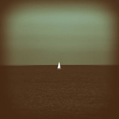 Origami Photograph - Sailing by Stelios Kleanthous