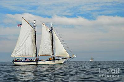 Photograph - Sailing The Open Seas by Allen Beatty
