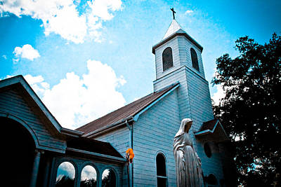 Digital Art - Saint Augustine Church by Audreen Gieger