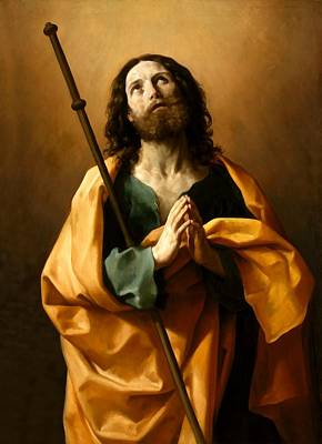 Saint James The Greater Art Print by Guido Reni