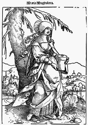 Saint Mary Magdalene Art Print by Granger