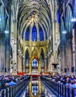 Photograph - Saint Patrick Cathedral 001 by Jeff Stallard