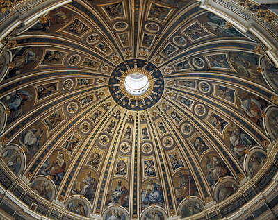 Piazza San Pietro Photograph - Saint Peters Basilica. Vatican City by Everett