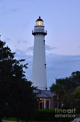 Photograph - Saint Simons Lighthouse by Bob Sample