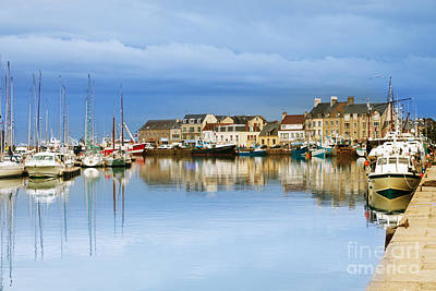 Saint-vaast-la-hougue Normandy France Art Print by Colin and Linda McKie