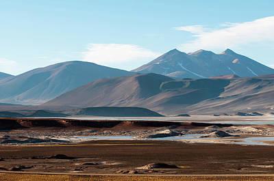 Salar De Talar, Atacama Desert, Chile Art Print