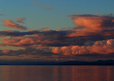 Photograph - Salish Sunset by Randy Hall