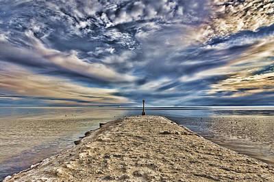 Salt Pier Salton Sea Art Print