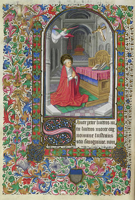 Saluces Hours Art Print by British Library