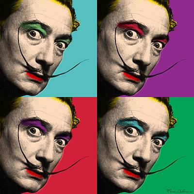 Kid Photograph - Salvador Dali  by Mark Ashkenazi